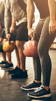 Group Exercising with Kettlebells
